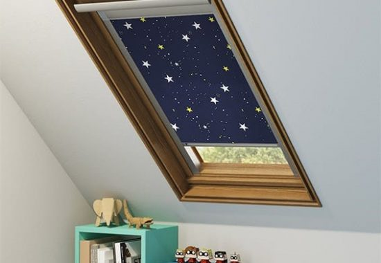 Image of a Velux blind from Controlux Limited